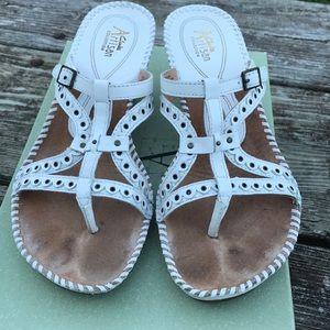 Clarks Shoes Jaina Canary Huarache Sandals Like New 8w